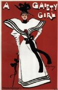 Vintage theatre poster - A Gaiety girl